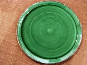 中尾さんの緑のうつわ。_a0026127_181955.jpg