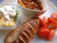 近頃の朝ご飯。_c0005672_20432737.jpg