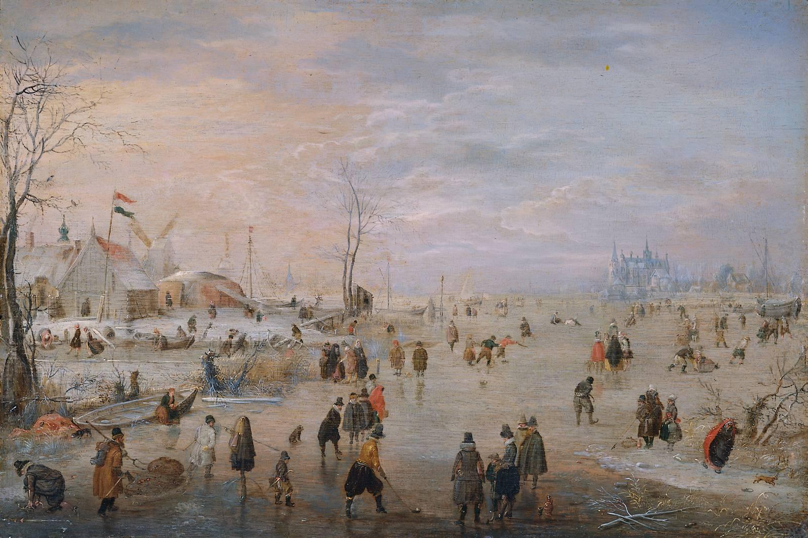 アムステルダム国立美術館展(5)ヘンドリック・アーフェルカンプ ...