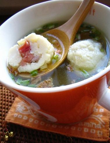 無国籍(和中)スープ