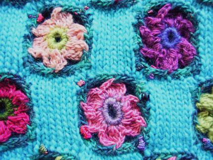 簡単な編み方で     simple to knit_b0029036_2028487.jpg
