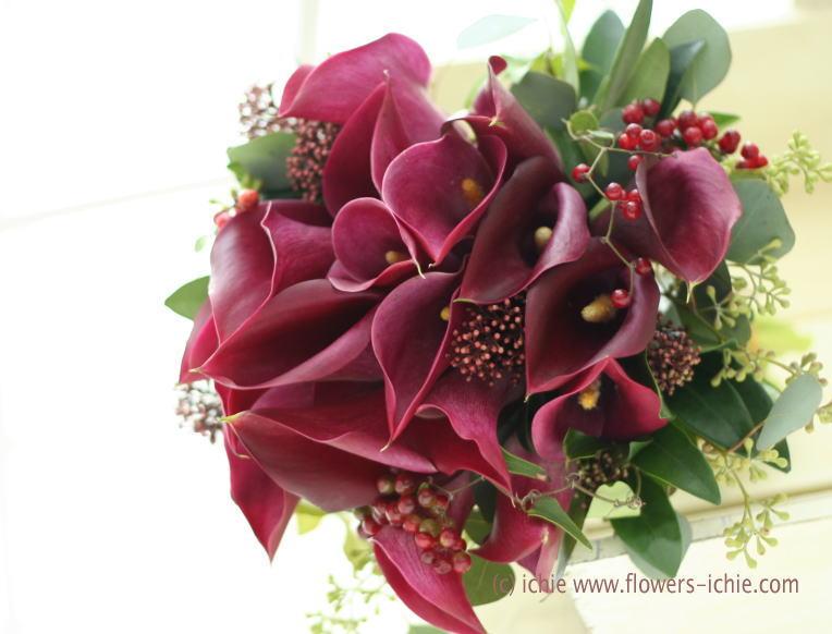 新郎新婦様からのメール カラーのブーケ_a0042928_047335.jpg