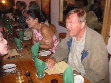 イギリス紀行 その9 2日目の夜♪《結婚式前夜祭ディナー》_b0051666_15375544.jpg