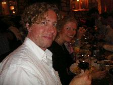 イギリス紀行 その9 2日目の夜♪《結婚式前夜祭ディナー》_b0051666_1544922.jpg