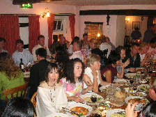 イギリス紀行 その9 2日目の夜♪《結婚式前夜祭ディナー》_b0051666_15465794.jpg