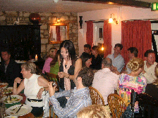 イギリス紀行 その9 2日目の夜♪《結婚式前夜祭ディナー》_b0051666_15494994.jpg