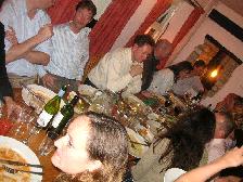 イギリス紀行 その9 2日目の夜♪《結婚式前夜祭ディナー》_b0051666_15501841.jpg