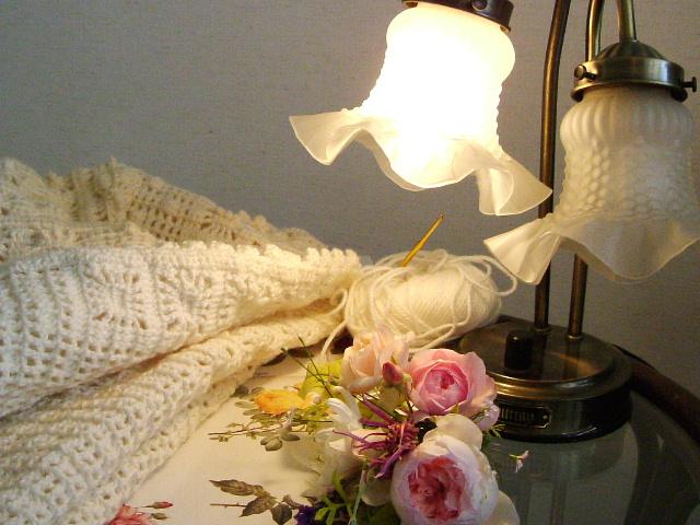 編み物とバラ_f0007106_1910359.jpg