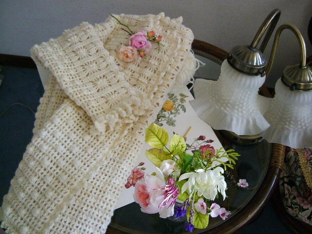 編み物とバラ_f0007106_19211221.jpg