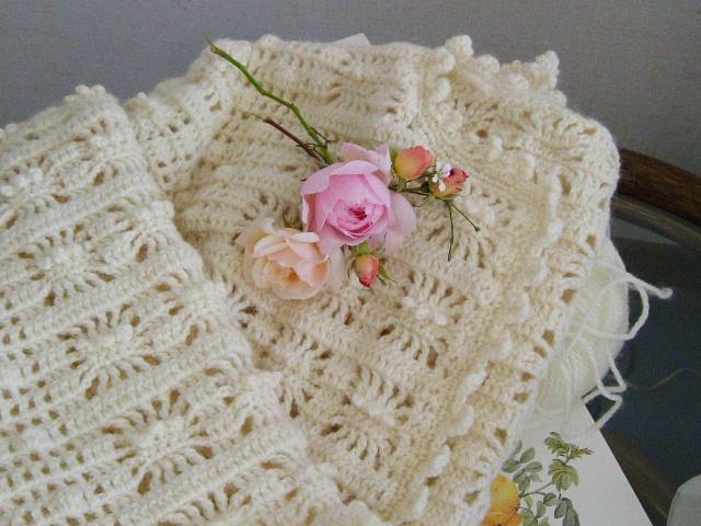 編み物とバラ_f0007106_19213899.jpg