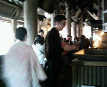 11月26日 只今奈良に向かってます、御座所にて_d0001708_2211719.jpg