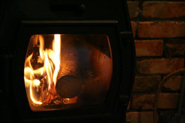 #123 11月29日  暖炉_e0048293_20145976.jpg