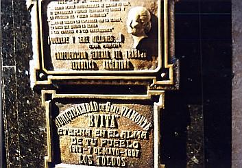 レコレッタのエビータの墓を訪ねて   _c0011649_19134650.jpg