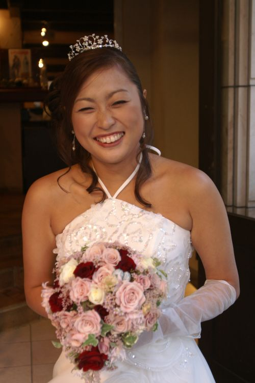 新郎新婦様からのメール 笑顔の写真_a0042928_2113484.jpg