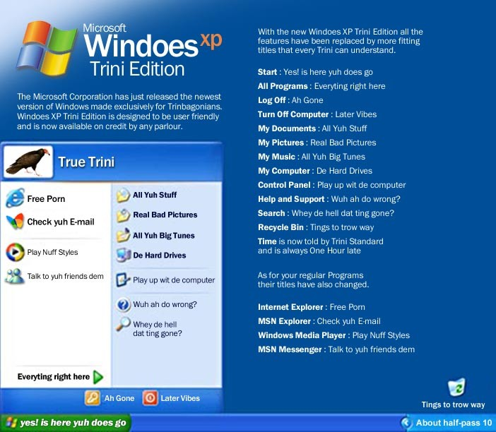 Trini Dictionary - Windows XP Trini Edition _b0011913_13405676.jpg