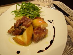 豚とりんご煮~メディチ家レシピ_f0006899_1536444.jpg