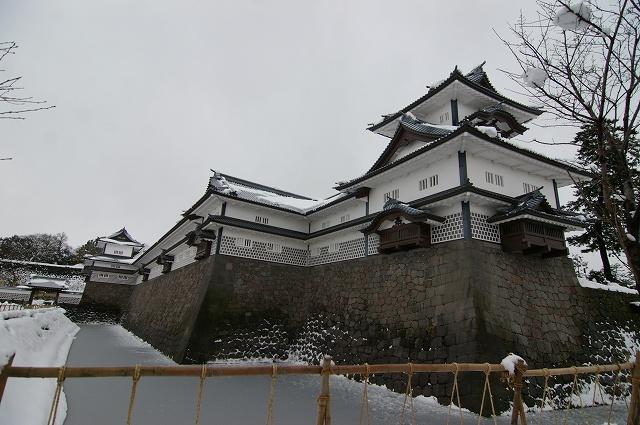 雪の金沢城_d0043136_21141316.jpg
