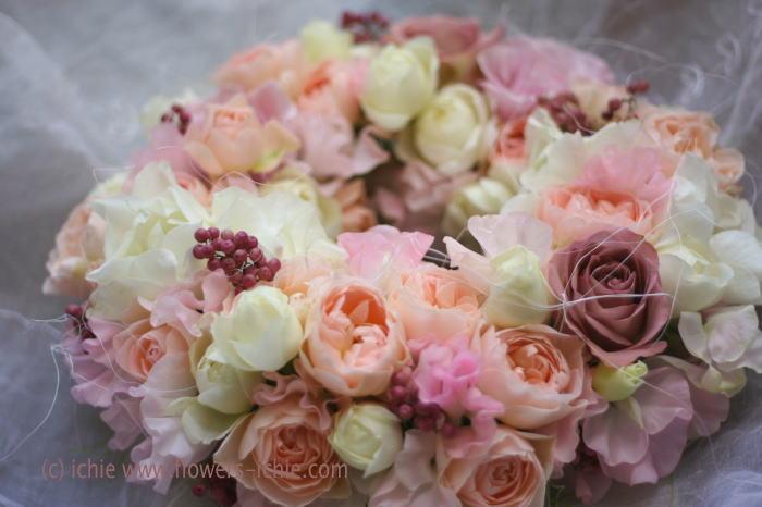装花コース12月 リース_a0042928_0172913.jpg