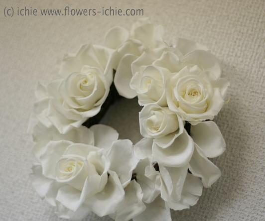装花コース12月 リース_a0042928_0175963.jpg