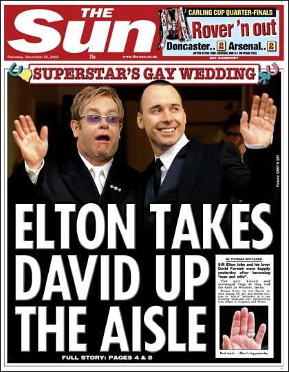 エルトン・ジョンさん同性婚 新たな法律施行で_d0066343_2264423.jpg