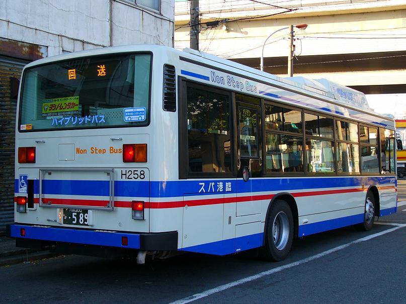 川崎鶴見臨港バス 2H258