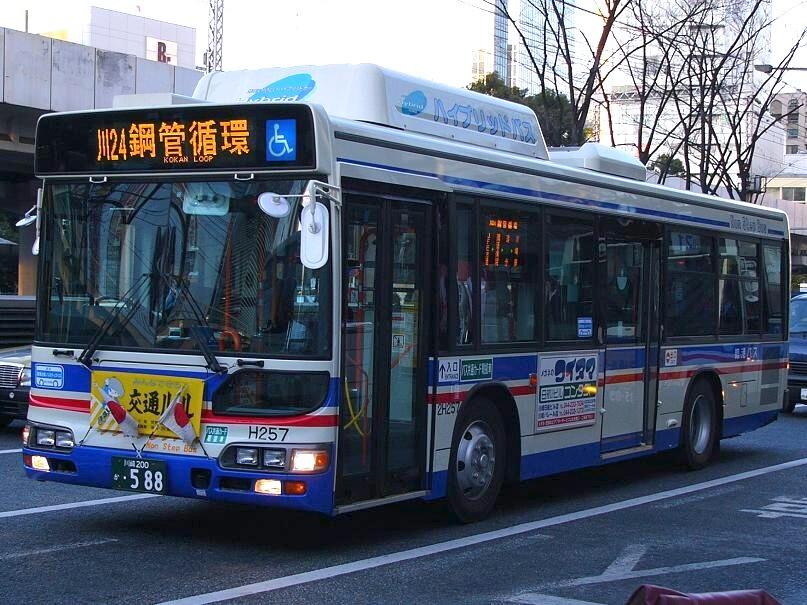 川崎鶴見臨港バス 2H257