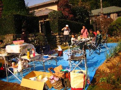 Log Jizo Festival【秋】焼き芋_c0038619_23384673.jpg