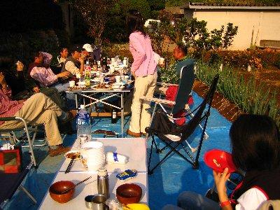 Log Jizo Festival【秋】焼き芋_c0038619_2339168.jpg
