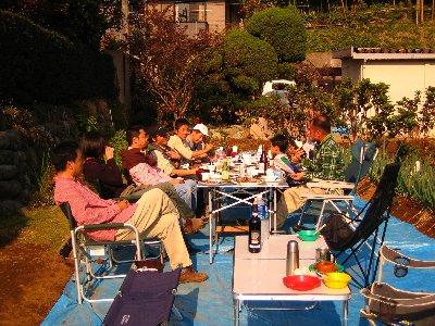 Log Jizo Festival【秋】焼き芋_c0038619_2339652.jpg