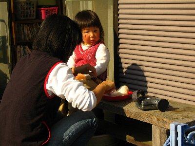 Log Jizo Festival【秋】焼き芋_c0038619_23445970.jpg
