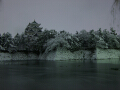 雪夜の名古屋城02