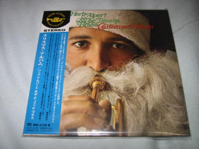 HERB ALPERT & THE TIJUANA BRASS / CHRISTMAS ALBUM_b0042308_18222087.jpg