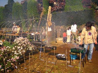 Log Jizo Festival【秋】焼き芋_c0038619_003848.jpg