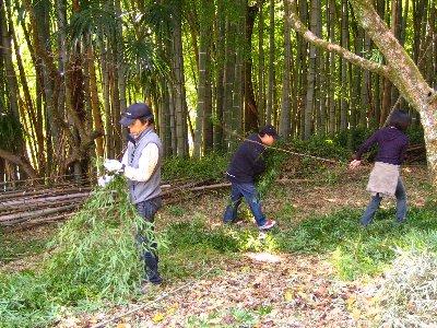 Log Jizo Festival【秋】焼き芋_c0038619_010399.jpg