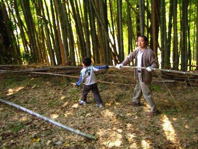 Log Jizo Festival【秋】焼き芋_c0038619_021938.jpg