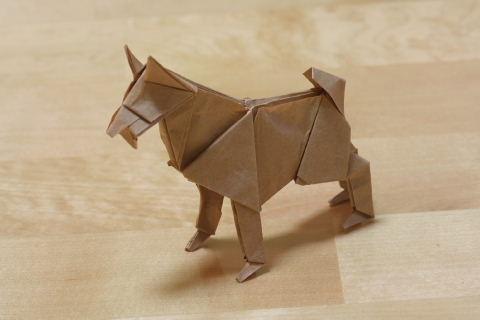 ハート 折り紙 折り紙 動物 立体 折り方 : origami.exblog.jp