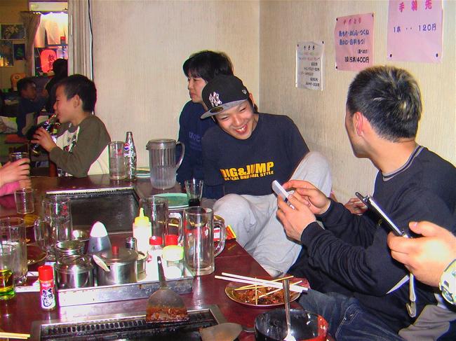 Xマスをぶっとばせ!! 2  BREW JAPAN  B F R   Yellow-1 転倒虫 S.S Racing 合同忘年会_b0065730_2061165.jpg