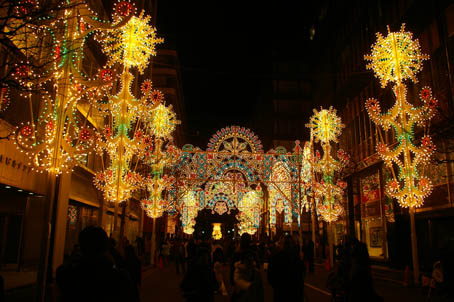 師走の夜の光の祭典「東京ミレナリオ」、今回で見納め!_c0014967_846938.jpg