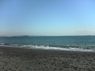 年の瀬の茅ヶ崎海岸_d0066127_1512552.jpg