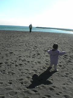 年の瀬の茅ヶ崎海岸_d0066127_1572642.jpg