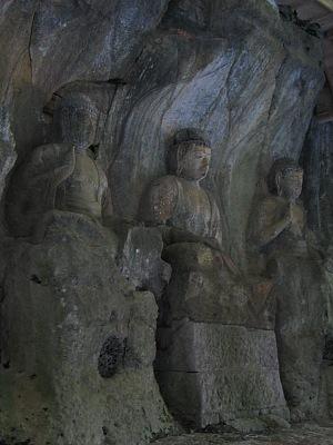 """臼杵探訪(その7):""""磨崖仏""""の群像・・・臼杵石仏_c0001578_11334574.jpg"""