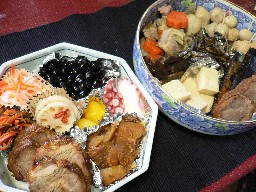 お節料理と着物と_c0035843_2325136.jpg