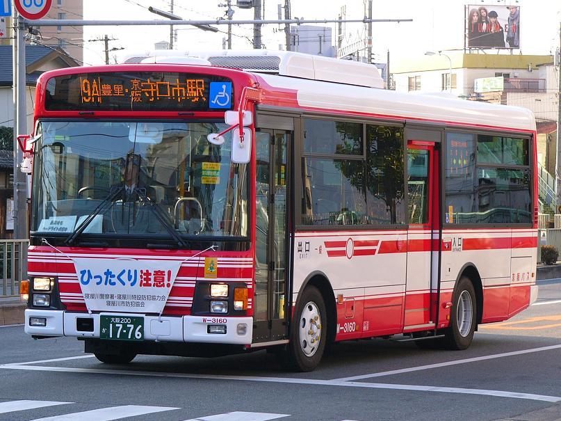 京阪バス W-3160