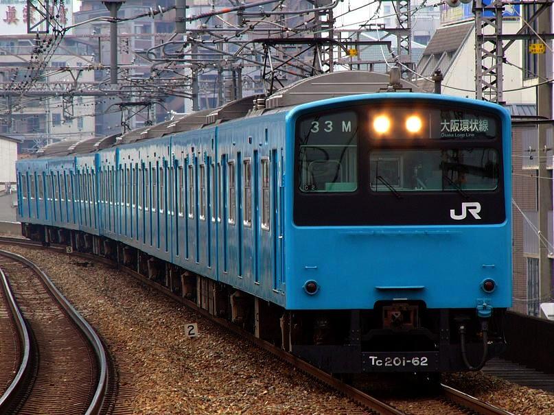JR西日本 201系