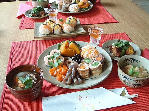 パリで挑戦、おせち料理_c0024345_3143518.jpg