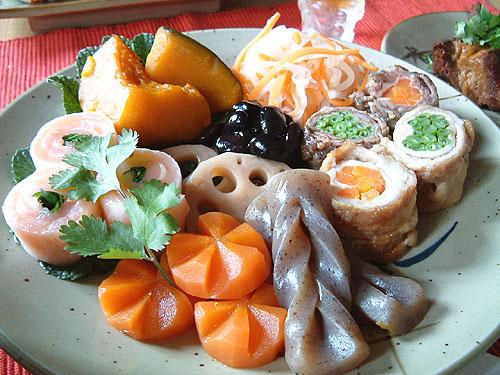 パリで挑戦、おせち料理_c0024345_3344878.jpg
