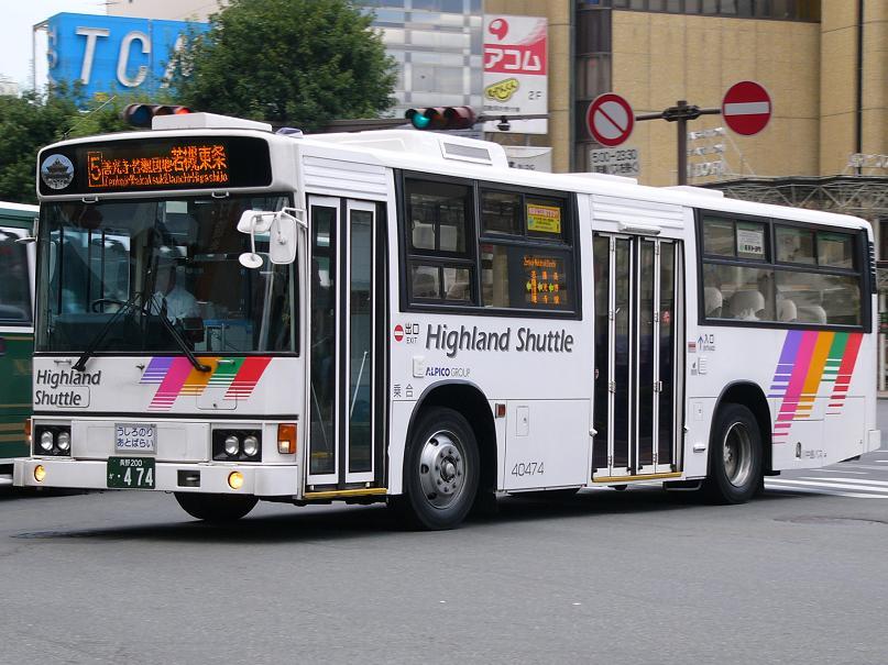 川中島バス 40474