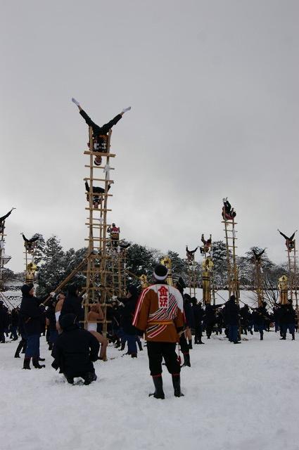 雪の中、出初式~金沢_d0043136_1934182.jpg