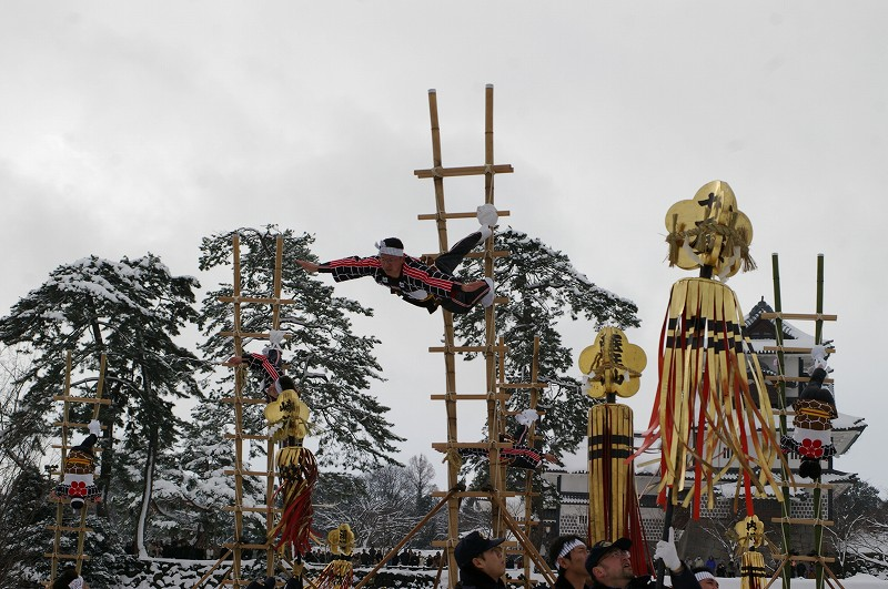 雪の中、出初式~金沢_d0043136_1934773.jpg