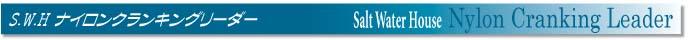 トラグの調整が行いやすい便利なリーダー、S.W.H ナイロンクランキングリーダー[カジキトローリング]_f0009039_1052102.jpg